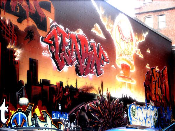 Grafitti by Beckaphotos