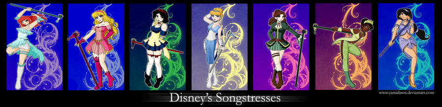 .:DIS Disney Songstresses:. by Dawnrie