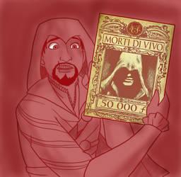 .:AC Ezio as Flynn:. by Dawnrie