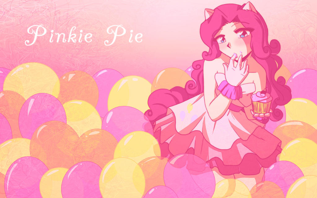 .:MLP Pinkie Pie Wallpaper:. by Dawnrie