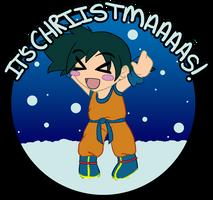 .:DBZA It's CHRIIIISTMAAAS:. by Dawnrie