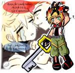 .:KH2 Roxel+Roxas+Axel:.
