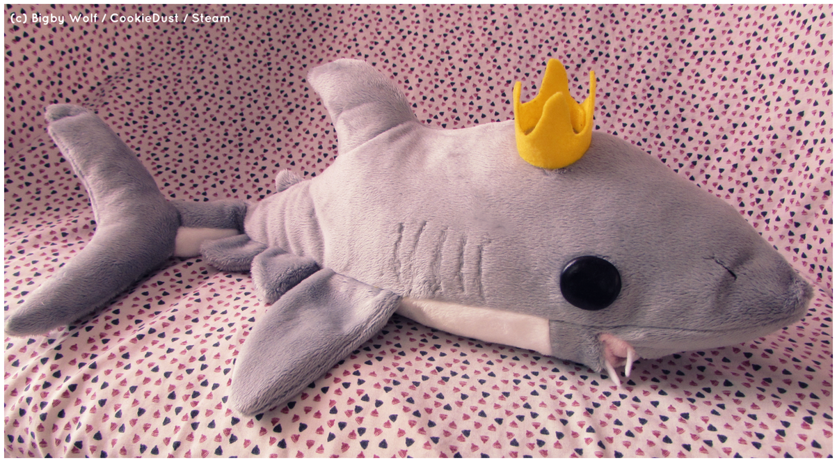 Mako Shark Plush By Fallenpeach On Deviantart