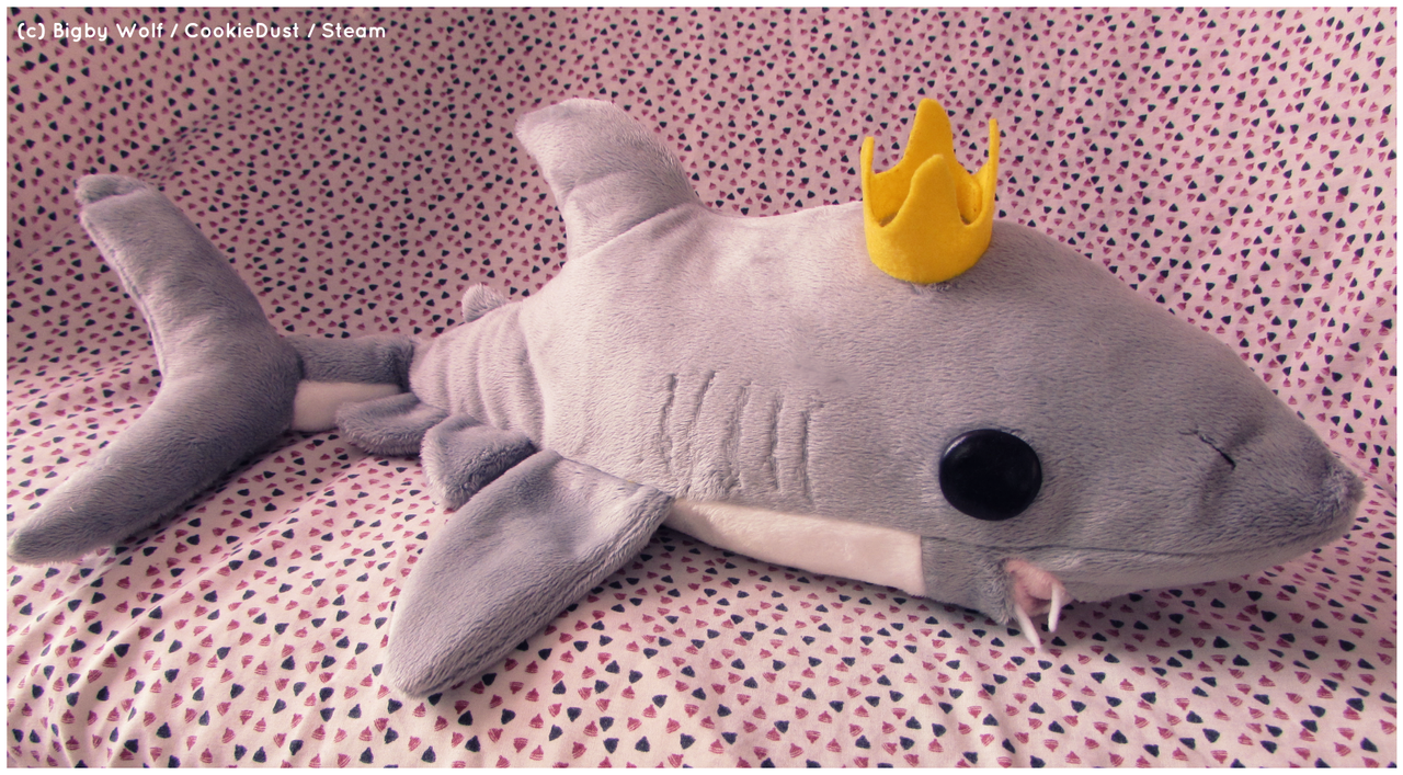 Mako Shark Toys : Mako shark plush by fallenpeach on deviantart