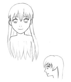Cloud's head concept