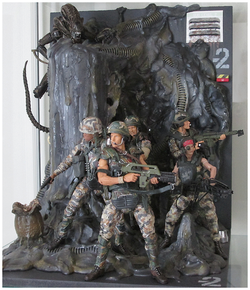 US Colonial Marines in Aliens Hive diorama by Wallo2 on ...