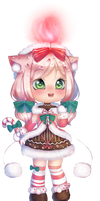 [CLOSED] Candle Doll: Candy Cane Adopt