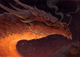 Dragon Study #5, Smaug!