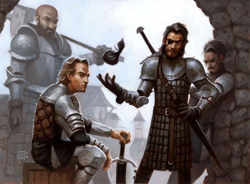 Mercenaries by alexstoneart