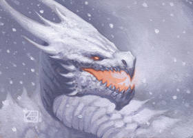 Dragon #8 by alexstoneart