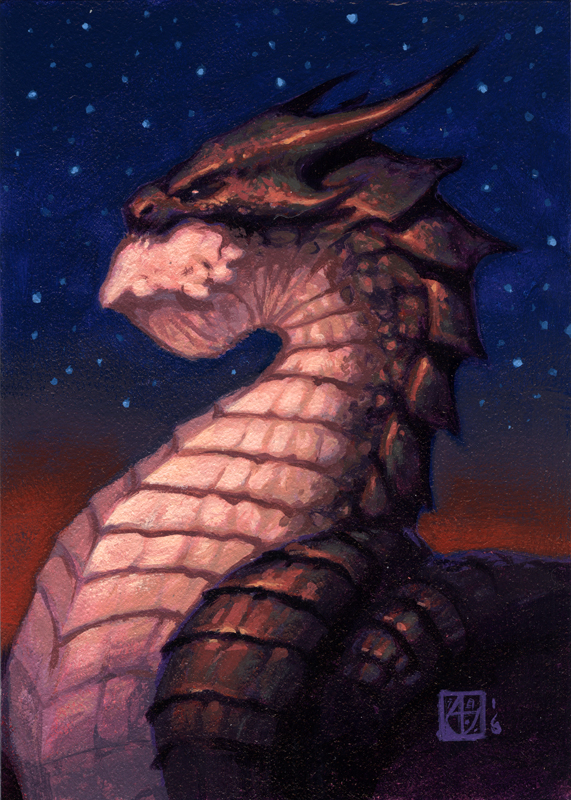Dragon #11 by alexstoneart