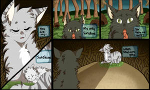 A mothers Love: Warrior Cats Comic pg1.