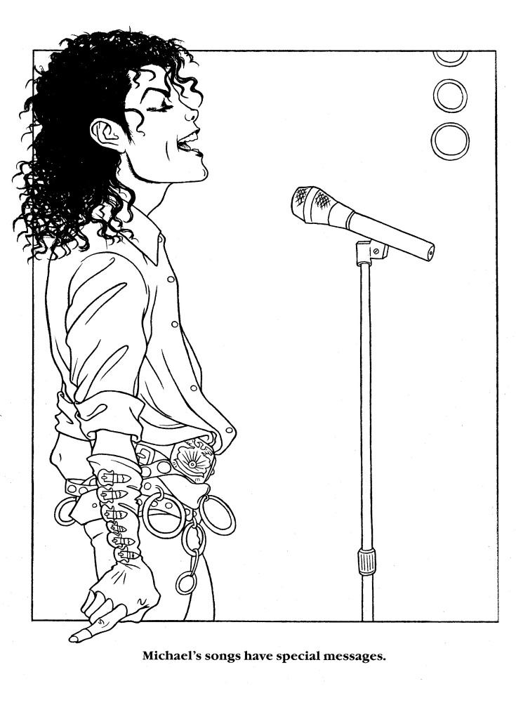 Moonwalker coloring page Orig. by LaMoonstar on DeviantArt
