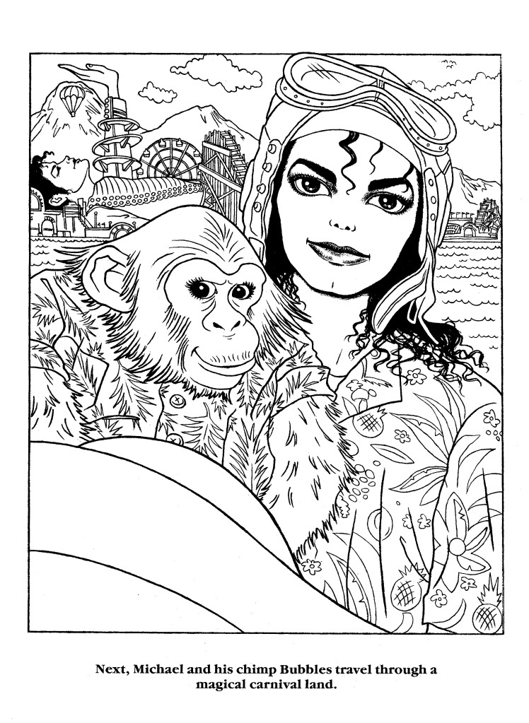 moonwalker coloring page 4 by lamoonstar