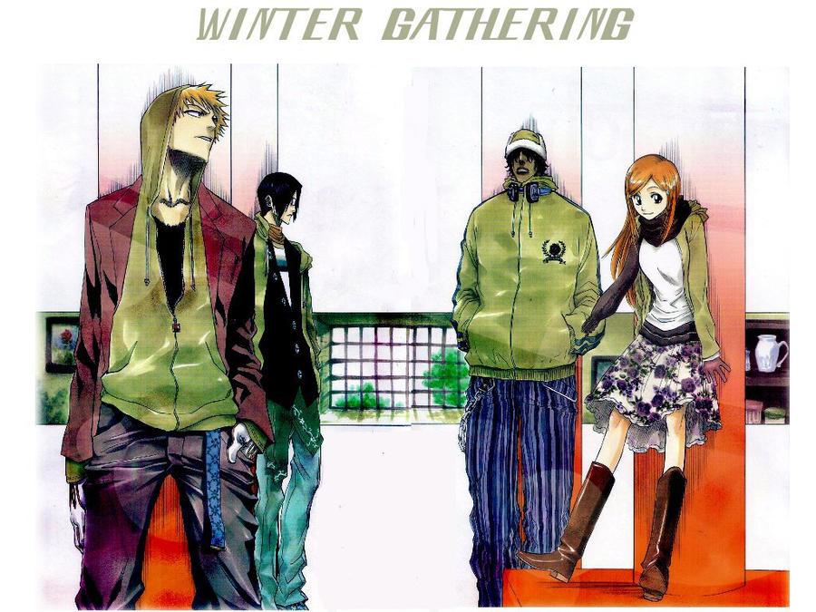 Winter Gathering by LaMoonstar