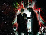 Doctor Who nightmare in silver Wallpaper