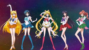 Super Senshi fanedit Wallpaper