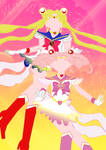 Supers Sailor Moons Vector