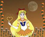 Zodiac Flower Senshi Carnation by LaMoonstar