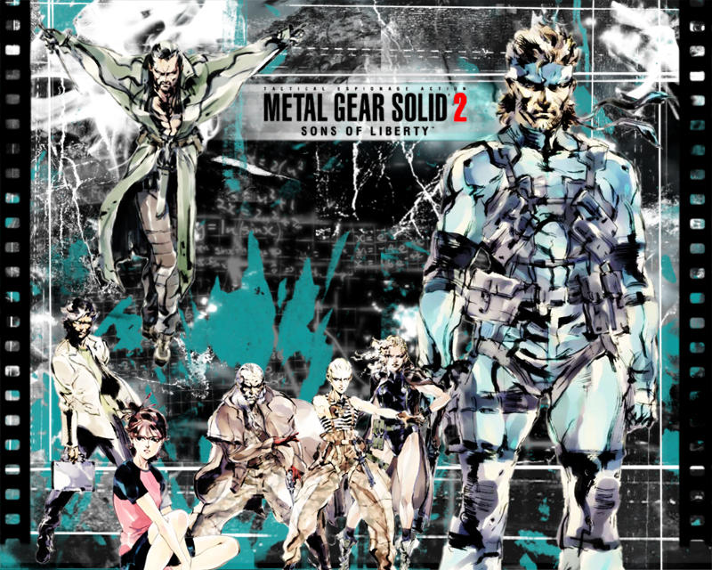 metal gear wallpaper. Metal Gear Solid Wallpaper by