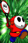 Shy Guy Tennis