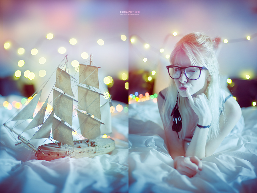 Ship and me by PYFF