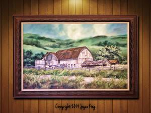 The Barn Joyce King Mockup