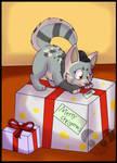Secret santa 1- dakemae - I has gifties