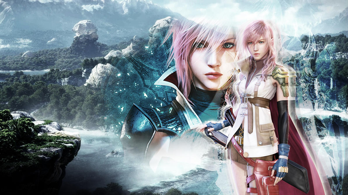 final fantasy xiii lightning wallpaperdarklmx on deviantart