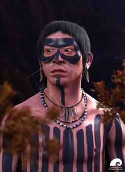 Indio Guarani Kaiowa