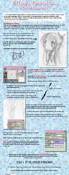 Chibi LineArt Tutorial by N0ISEhazard
