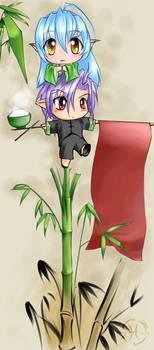 Cloud Bamboo +chibi+