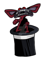 Its No Trick Aaahh!!! Real Monsters Ickis by LovelessDGrim