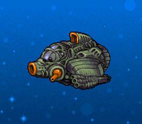 Spaceship Sprite by Billified