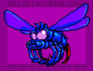 BUG SPRITE Pixel Game WIP