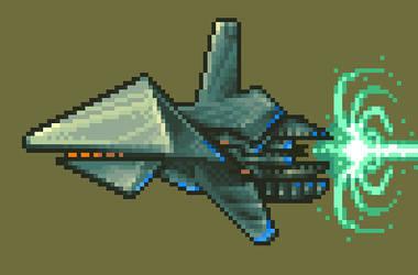 Sprite Ice Fighter (XL) by Billified