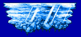 Pixel Ice Level Platform