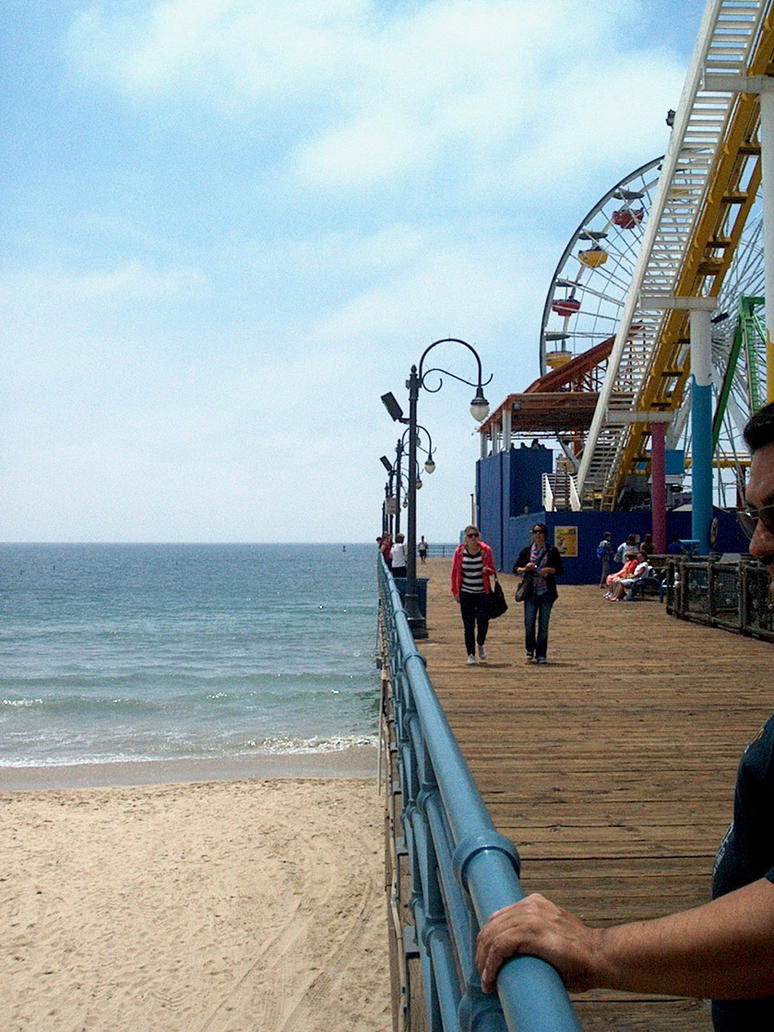 Santa Monica Pier by kelemoo6