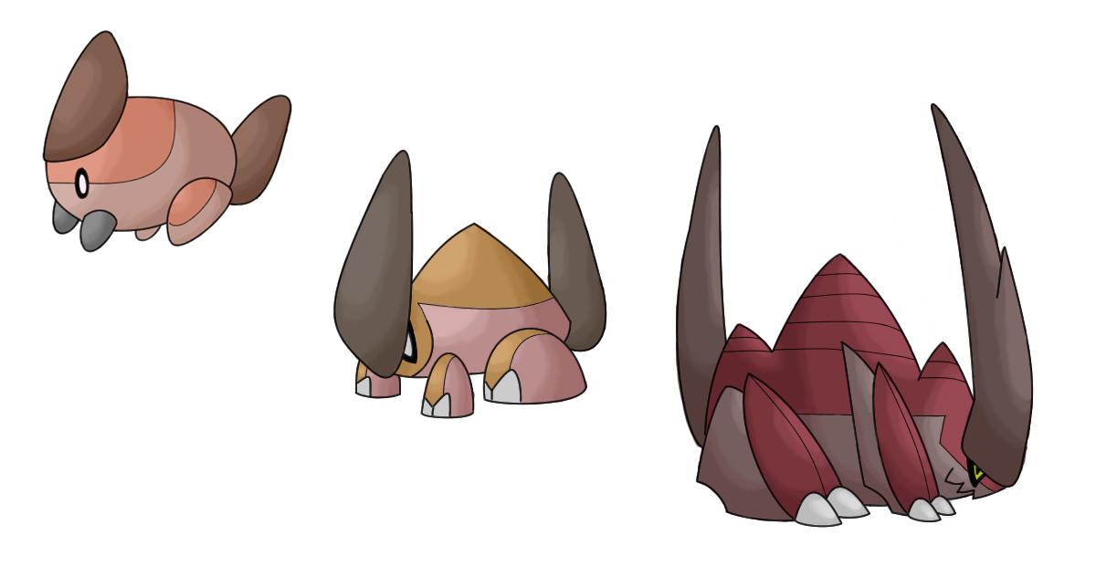Mite, Stagmite, and Miterran by Kirazy
