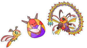 Tonbo, Komobo, and Devibo by Kirazy
