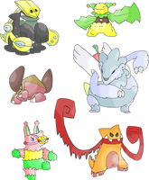 Fakemon Collection by Kirazy