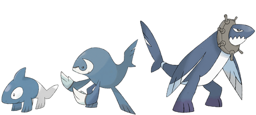 Orco, Galfin, and Threshark by Kirazy