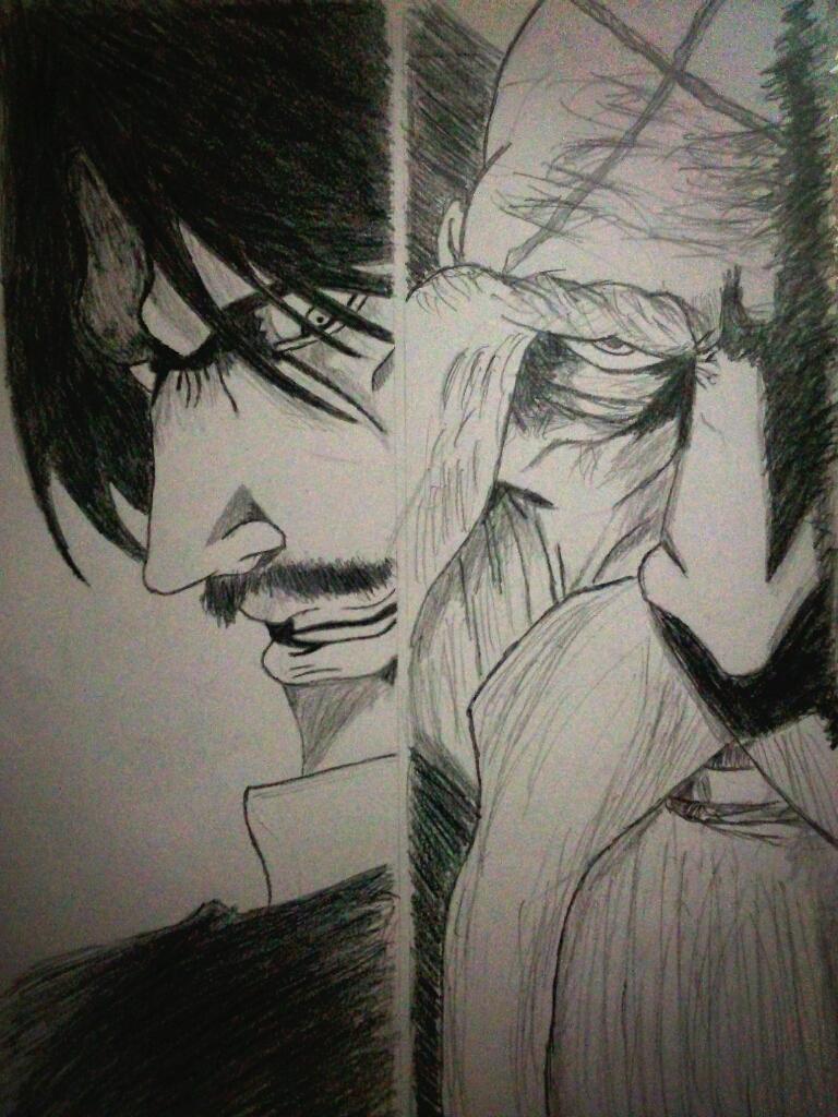 juha_bach_vs_yamamoto_genryuusai_by_scre