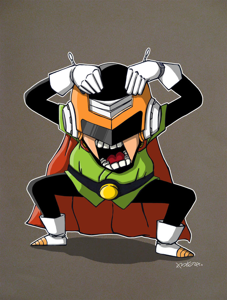 Great Saiyaman by B-E-Z-A