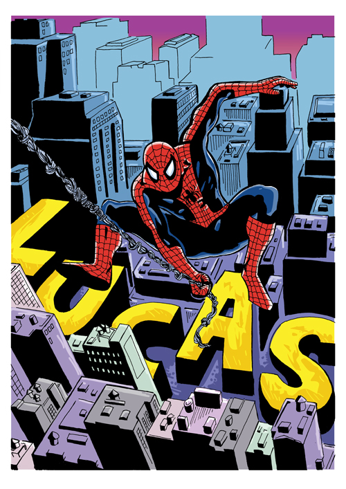 Spidey for Lucas by AMAComics