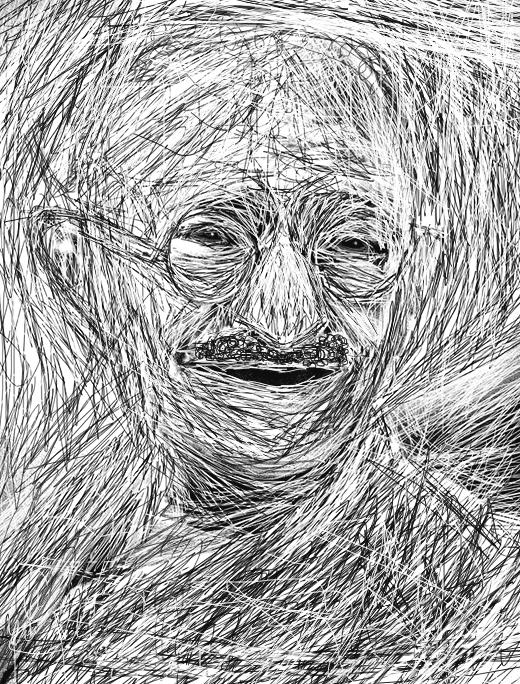 Mahatma Gandhi by A7md3mad