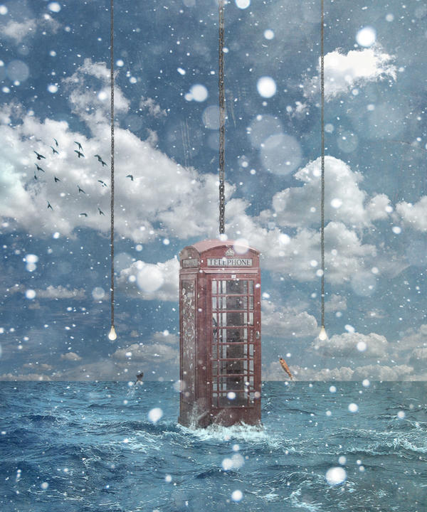 Phone Booth by A7md3mad