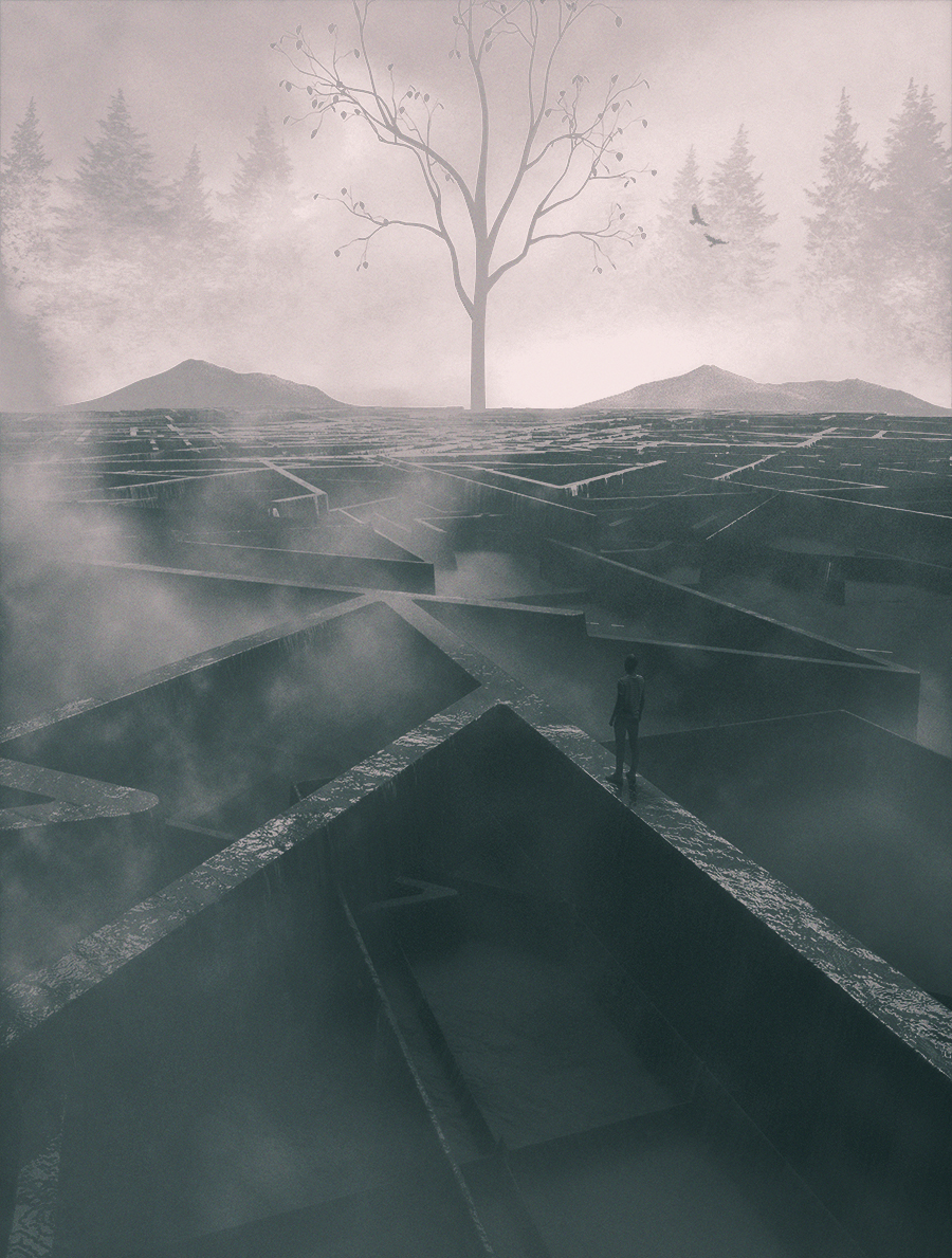 The Maze by A7md3mad