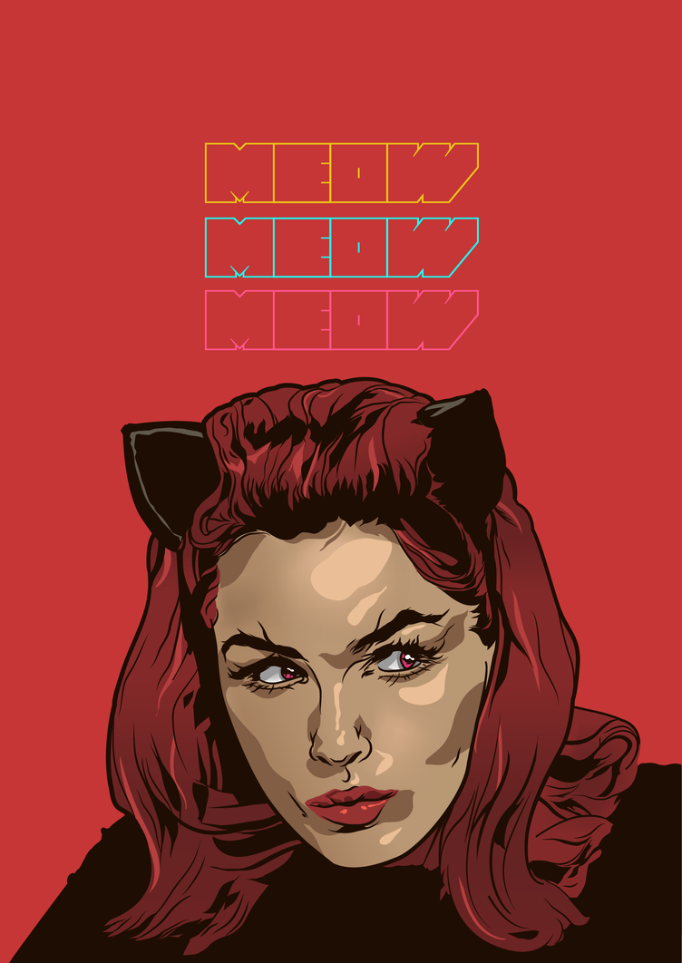 Catwoman '66 by deftbeat