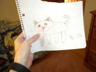 Little orange cat by Flynnster-4590